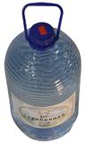 """Бутыль 6л для доставки питьевой воды """"Серебряная вода"""""""